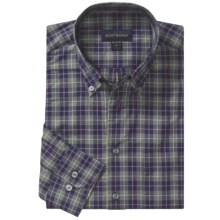 Scott Barber Spring James Sport Shirt - Cotton Plaid, Long Sleeve (For Men) in Multi Flannel - Closeouts