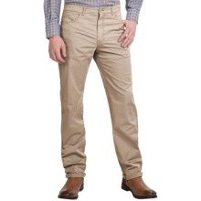 Scott Barber Stretch Cotton Jeans - 5-Pocket (For Men) in Beige - Closeouts