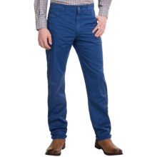 Scott Barber Stretch Cotton Jeans - 5-Pocket (For Men) in Bright Blue - Closeouts