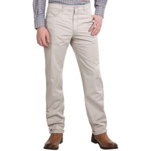 Scott Barber Stretch Cotton Jeans - 5-Pocket (For Men) in Stone - Closeouts