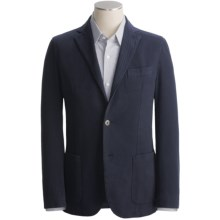 Scott Barber Washed Cavalry Twill Blazer (For Men) in Navy - Closeouts