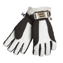 Scott Celebutante Gloves - Waterproof, Insulated (For Women) in Brown - Closeouts