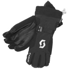 Scott Chalkwalk 3-in-1 Gloves - Waterproof, Insulated (For Men) in Black - Closeouts