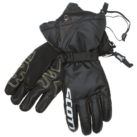 SCOTT Dawson Gore-Tex® 3-in-1 Gloves - Waterproof, Insulated (For Men) in Black