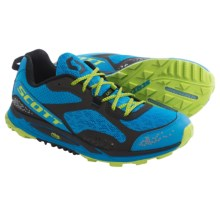 Scott Eride Grip 3.0 Trail Running Shoes (For Men) in Blue/Green - Closeouts