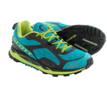SCOTT eRide Grip 3.0 Trail Running Shoes (For Women) in Blue/Green - Closeouts