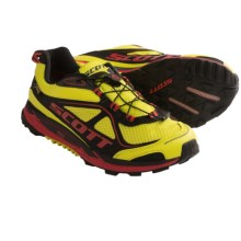 SCOTT ERide Nakoa Gore-Tex® Trail Running Shoes - Waterproof (For Men) in Yellow/Red - Closeouts