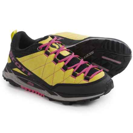 SCOTT ERide Rockcrawler Trail Running Shoes (For Women) in Yellow/Pink - Closeouts