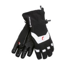 Scott Fall Line Component Gloves - Waterproof (For Men and Women) in Black/White - Closeouts