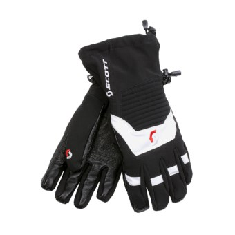 Scott Fall Line Component Gloves - Waterproof (For Men and Women) in Black/White