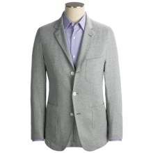 Scott James Alfredo Blazer - Cotton (For Men) in Grey - Closeouts