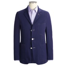 Scott James Alfredo Blazer - Cotton (For Men) in Navy - Closeouts
