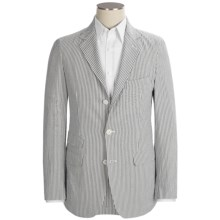Scott James Arden Seersucker Jacket (For Men) in Grey - Closeouts