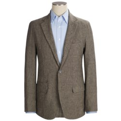 Scott James Duncan Blazer - Cotton-Linen (For Men) in Brown