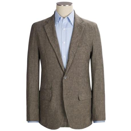 Scott James Duncan Blazer - Cotton-Linen (For Men) in Brown
