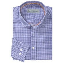 Scott James Heath Micro-Check Sport Shirt - Long Sleeve (For Men) in Purple - Closeouts