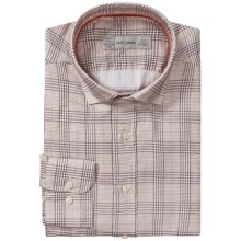 Scott James Landon Plaid Shirt - Long Sleeve (For Men) in Brown - Closeouts