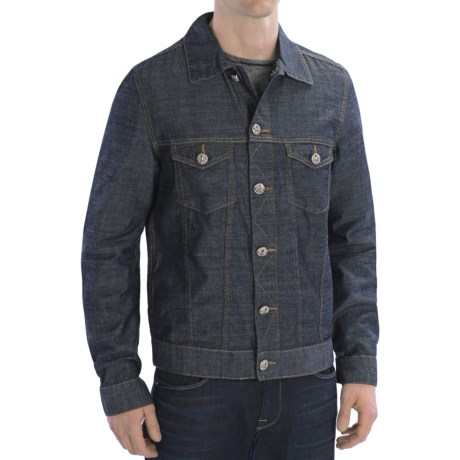 Scott James Milford Cotton Jean Jacket (For Men) in Blue