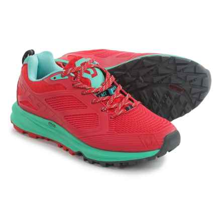 Scott Kinabalu Enduro Trail Running Shoes (For Women) in Red/Green - Closeouts
