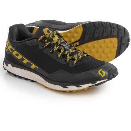 Scott Kinabalu RC Trail Running Shoes (For Men) in Black/Yellow - Closeouts