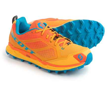 SCOTT Kinabalu Supertrac Trail Running Shoes (For Men) in Yellow/Orange - Closeouts