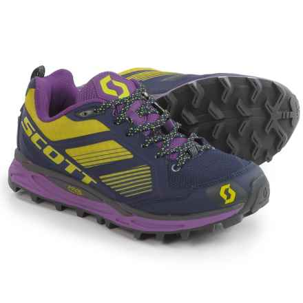 Scott Kinabalu Supertrac Trail Running Shoes (For Women) in Purple/Green - Closeouts