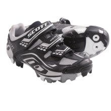 SCOTT MTB Comp Lady Cycling Shoes - SPD (For Women) in Black - Closeouts