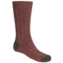 Scott Nichol by Pantherella Cable Weave Socks - Wool-Cashmere Blend (For Men) in Rust/Earth - Closeouts