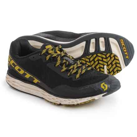 Scott Palani RC Running Shoes (For Women) in Black/Yellow - Closeouts