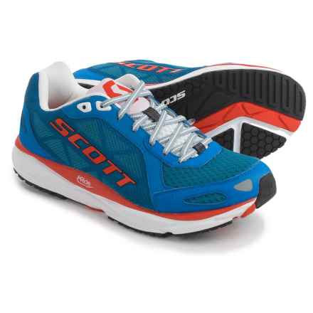 SCOTT Palani Trainer Running Shoes (For Men) in Blue/Red - Closeouts