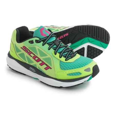 SCOTT Palani Trainer Running Shoes (For Women) in Green/Pink - Closeouts