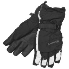 Scott Sphere Gloves - Waterproof, Insulated (For Men) in Grey - Closeouts