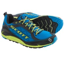 SCOTT T2 Kinabalu 3.0 Trail Running Shoes (For Men) in Blue/Green - Closeouts