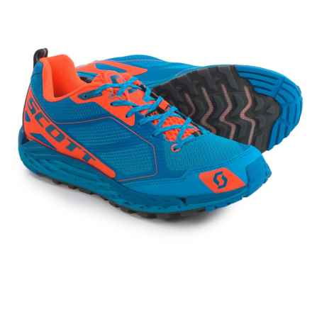 SCOTT T2 Kinabalu 3.0 Trail Running Shoes (For Men) in Blue/Orange - Closeouts