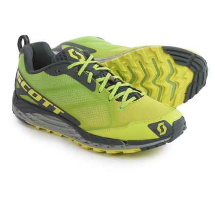 SCOTT T2 Kinabalu 3.0 Trail Running Shoes (For Men) in Yellow/Green - Closeouts