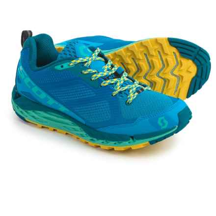 SCOTT T2 Kinabalu 3.0 Trail Running Shoes (For Women) in Blue/Green - Closeouts