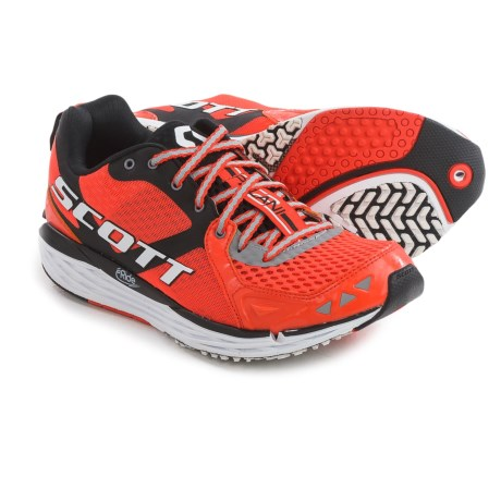 SCOTT T2 Palani Running Shoes (For Men) in Red/Black