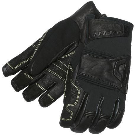 SCOTT Teton Gore-Tex® Gloves - Waterproof, Insulated (For Men) in Black