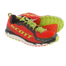 SCOTT Trail Rocket 2.0 Trail Running Shoes (For Men) in Red/Green - Closeouts