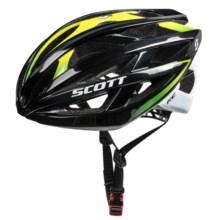SCOTT Wit-R Bike Helmet in Black/Green - Closeouts