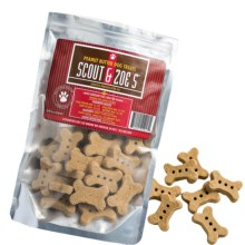 Scout and Zoe's Large Peanut Butter Bones Dog Treats - 6 oz. in See Photo - Closeouts