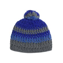 Screamer Audrina Beanie Hat (For Women) in Grey/Blue - Closeouts