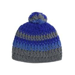 Screamer Audrina Beanie Hat (For Women) in Grey/Blue