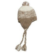 Screamer Bethanny Beanie Hat - Ear Flaps (For Women) in Taupe - Closeouts