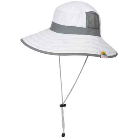Screamer Bora Bora Sun Hat - UPF 50+ (For Women) in White - Closeouts