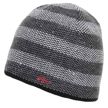 Screamer Box Canyon Beanie (For Men) in Charcoal/ White - Closeouts