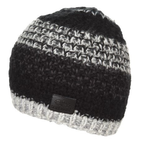 Screamer Campbell Fleece-Lined Beanie (For Men and Women) in Black/Charcoal