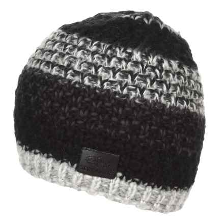 Screamer CAMPBELL LINED BEANIE (FOR MEN AND WOMEN) in Black/Charcoal - Closeouts