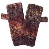 Screamer Chellene Fingerless Mittens - Wool Blend (For Women)