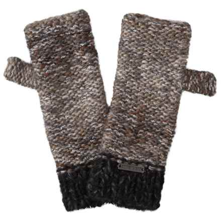 Screamer Chellene Fingerless Mittens - Wool Blend (For Women) in Smoked Pearl - Closeouts